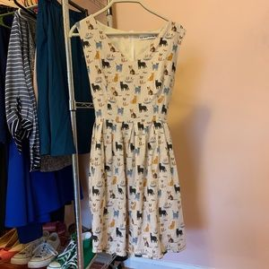 ModCloth Cat Dress with Pockets!